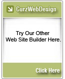 Curz Web Design makes Site Building easy